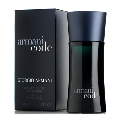 Armani Code for Men Eau De Toilette Spray 50ml
