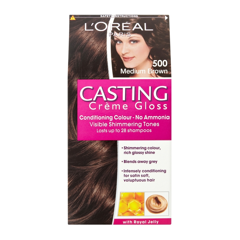 L'Oréal Paris Casting Crème Gloss Conditioning Colour 500 Medium
