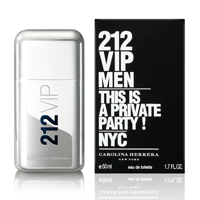 Carolina Herrera 212 VIP Men Eau De Toilette Spray 50ml
