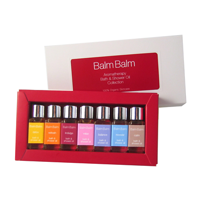 Balm Balm Aromatherapy Bath & Shower Oil Collection