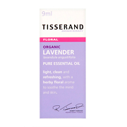 Tisserand Organic Lavender Pure Essential Oil 9ml