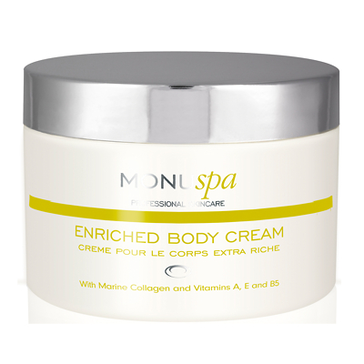 Monu Professional Skincare Enriched Body Cream 200ml