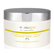 Monu Professional Skincare Papaya Bath Salt 150g