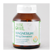 Wise Owl Magnesium Biogurt 40mg 60 Tablets