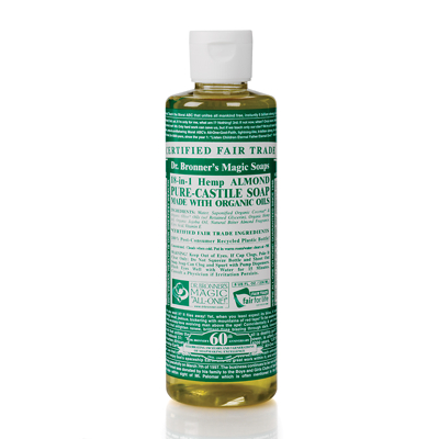 Dr Bronner's Organic Almond Castile Liquid Soap 236ml