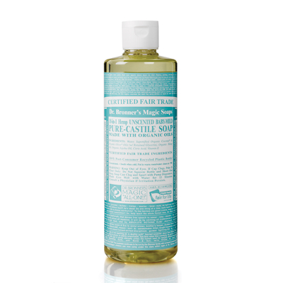 Dr Bronner's Organic Baby Cast Liquid Soap 472ml