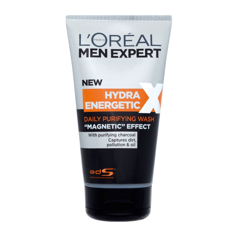 l 39 or al paris men expert hydra energetic daily purifying wash magnetic effect 150ml feelunique. Black Bedroom Furniture Sets. Home Design Ideas