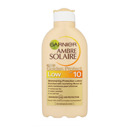 Garnier Ambre Solaire Golden Protect Shimmering Protection Lotion Low SPF10 200ml