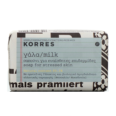 Korres Milk Soap for Stressed Skin 125g