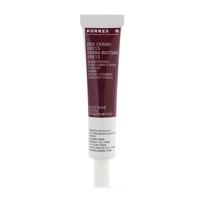 Korres Wild Rose Eye Cream SPF15 15ml