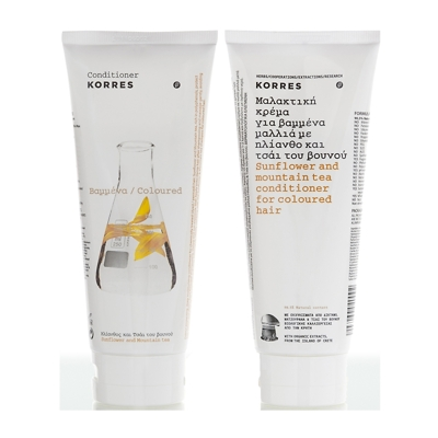 Korres Sunflower and Mountain Tea Conditioner 200ml