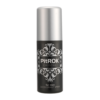 PitRok Crystal Deodorant Spray for Men 100ml