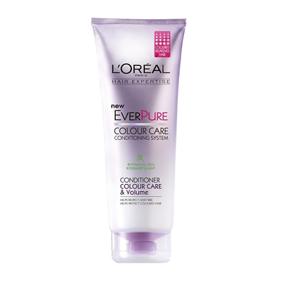 L'Oréal Paris Hair Expertise EverPure Colour Care & Volume Conditioner 250ml