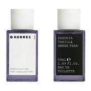 Korres Paeonia, Vanilla & Amber Pear Eau De Toilette Spray 50ml