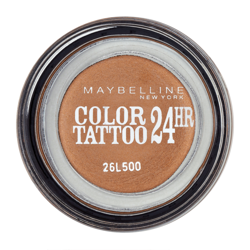 Maybelline new york color tattoo 24hr gel cream eyeshadow for Best cream for new tattoo