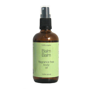 Balm Balm Fragrance Free Body Oil 100% Organic 100ml