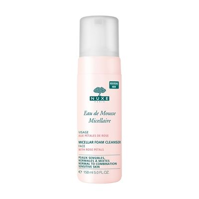 NUXE Eau de Mousse Micellaire Micellar Foam Cleanser 150ml
