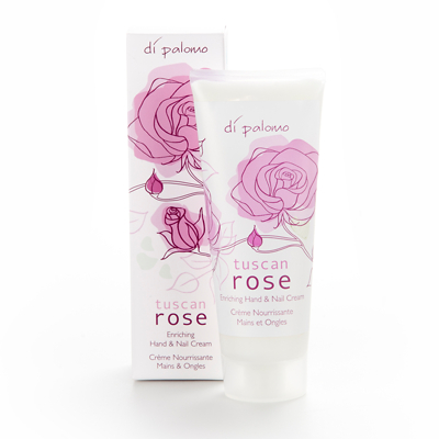 Di Palomo Tuscan Rose Hand & Nail Cream 75ml