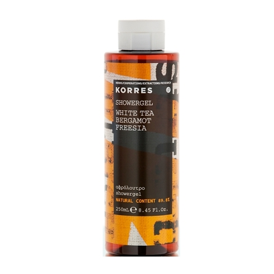 Korres White Tea, Bergamot and Freesia Showergel 250ml