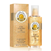 Roger & Gallet Bois d'Orange Eau Sublime Or Fresh Fragrant Water Golden Shimmer Spray 100ml
