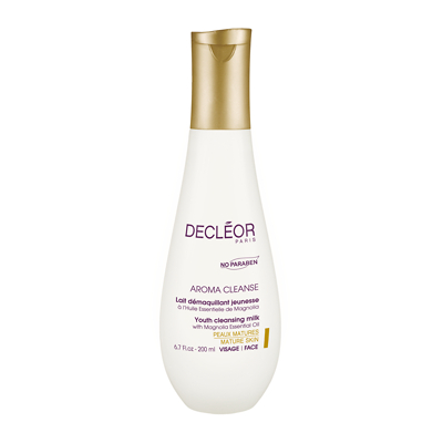 DECLÉOR Aroma Cleanse Youth Cleansing Milk with Magnolia Essential Oil 200ml