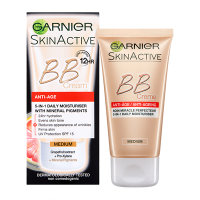 garnier miracle skin perfector anti ageing b b cream medium 50ml feelunique. Black Bedroom Furniture Sets. Home Design Ideas