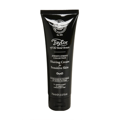 Taylor of Old Bond Street Jermyn Street Shaving Cream Tube 75g