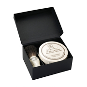 Taylor of Old Bond Street Gift Set Shaving Brush & Sandalwood Shaving Cream Gift Set