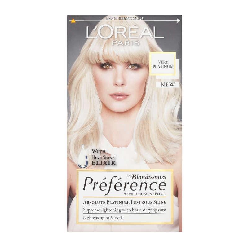 Platinum Blonde Hair Colour Products
