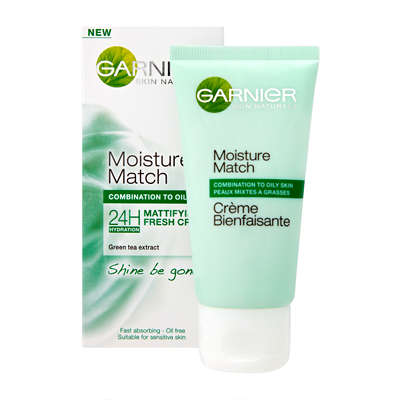 Garnier Moisture Match Mattifying - Shine Be Gone 50ml