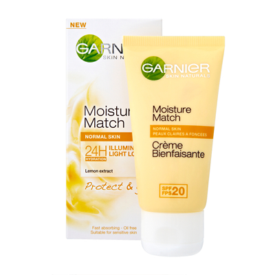 Garnier Moisture Match Illuminating - Protect & Glow 50ml