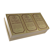 Taylor of Old Bond Street Sandalwood Bath Soaps 3 x 200g