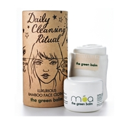 Móa The Green Balm 50ml and Luxurious Bamboo Face Cloth