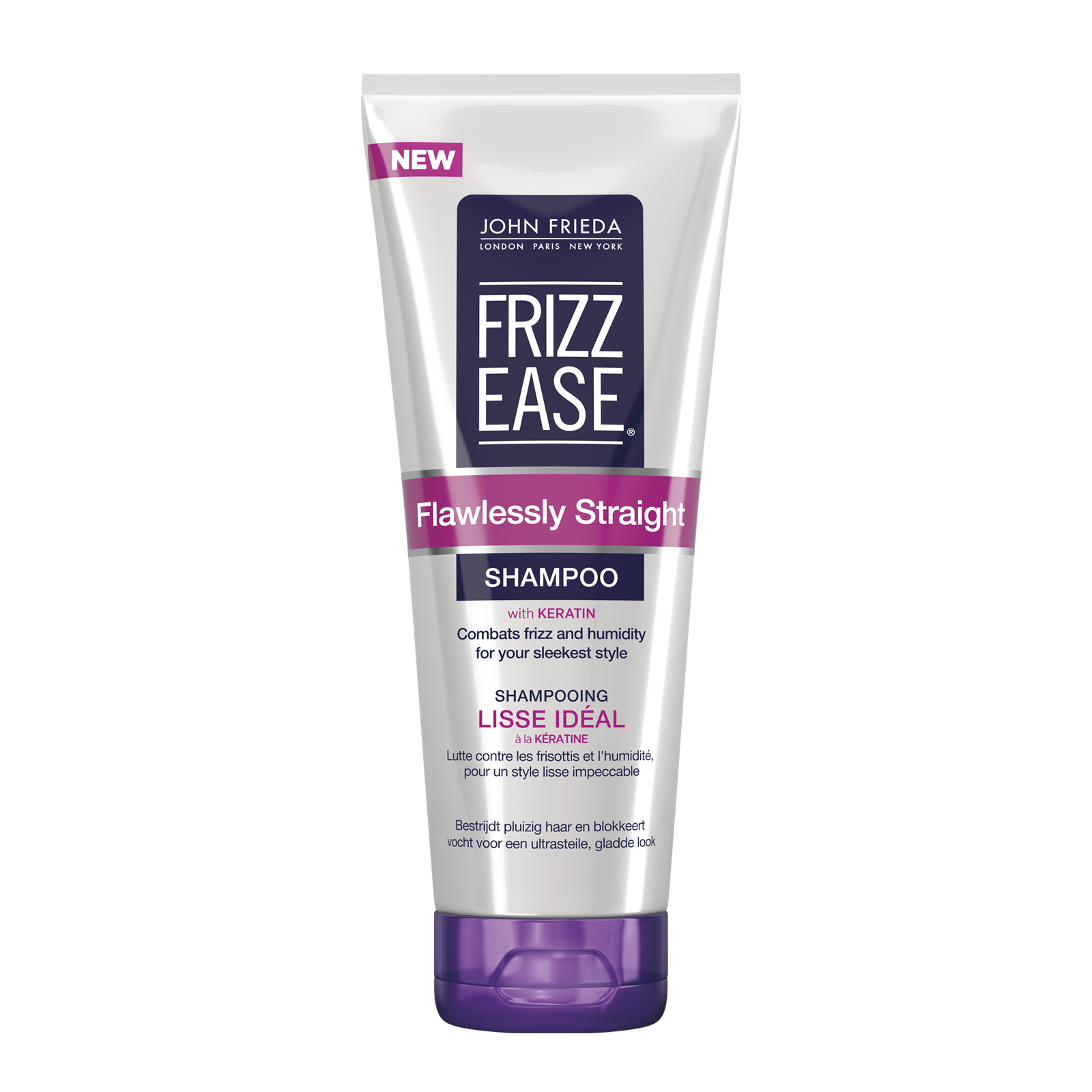 john frieda frizz ease flawlessly straight shampoo 250ml. Black Bedroom Furniture Sets. Home Design Ideas