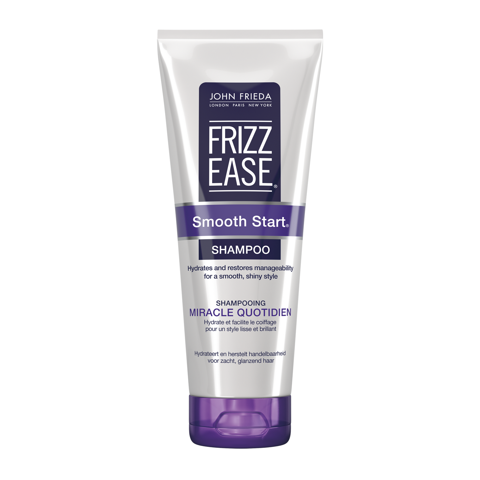 john frieda frizz ease smooth start shampoo 250ml. Black Bedroom Furniture Sets. Home Design Ideas