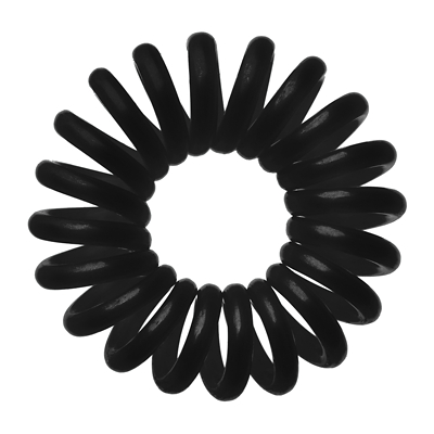 Invisibobble Traceless Hair Ring x3 - True Black