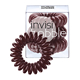 invisibobble The Traceless Hair Ring 3 Pack - Chocolate Brown