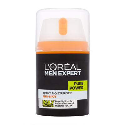 L'Oréal Paris Men Expert Pure Power Active Moisturiser 50ml