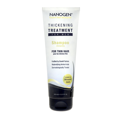 NANOGEN Thickening Treatment Shampoo for Men 240ml