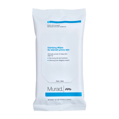 Murad Blemish Control Clarifying Wipes for Blemish-Prone Skin x30