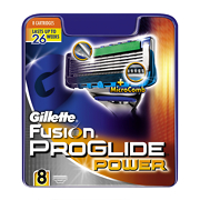 Gillette Fusion Proglide Power Replacement Cartridges x8