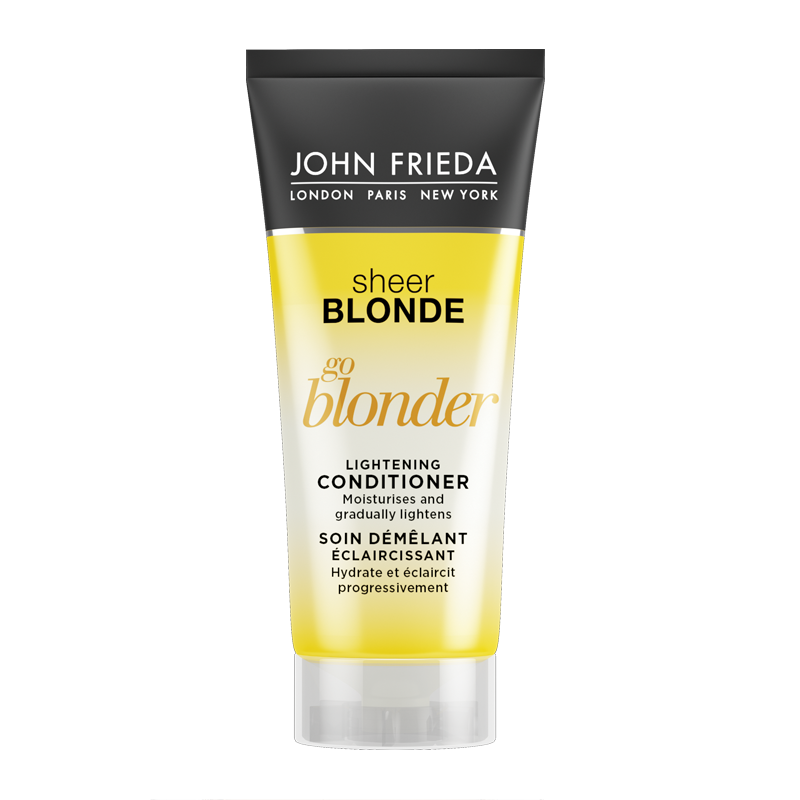 john frieda sheer blonde go blonder lightening conditioner 50ml feelunique. Black Bedroom Furniture Sets. Home Design Ideas