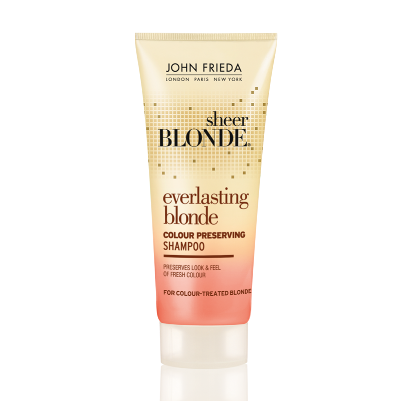 john frieda sheer blonde everlasting blonde shampoo 50ml feelunique. Black Bedroom Furniture Sets. Home Design Ideas