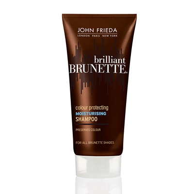 John Frieda Brilliant Brunette Multi-Tone Revealing Moisturising Shampoo for all Brunettes 50ml