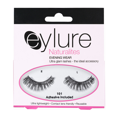 Eylure Naturalite Strip Eyelashes No. 101 (Evening Wear)