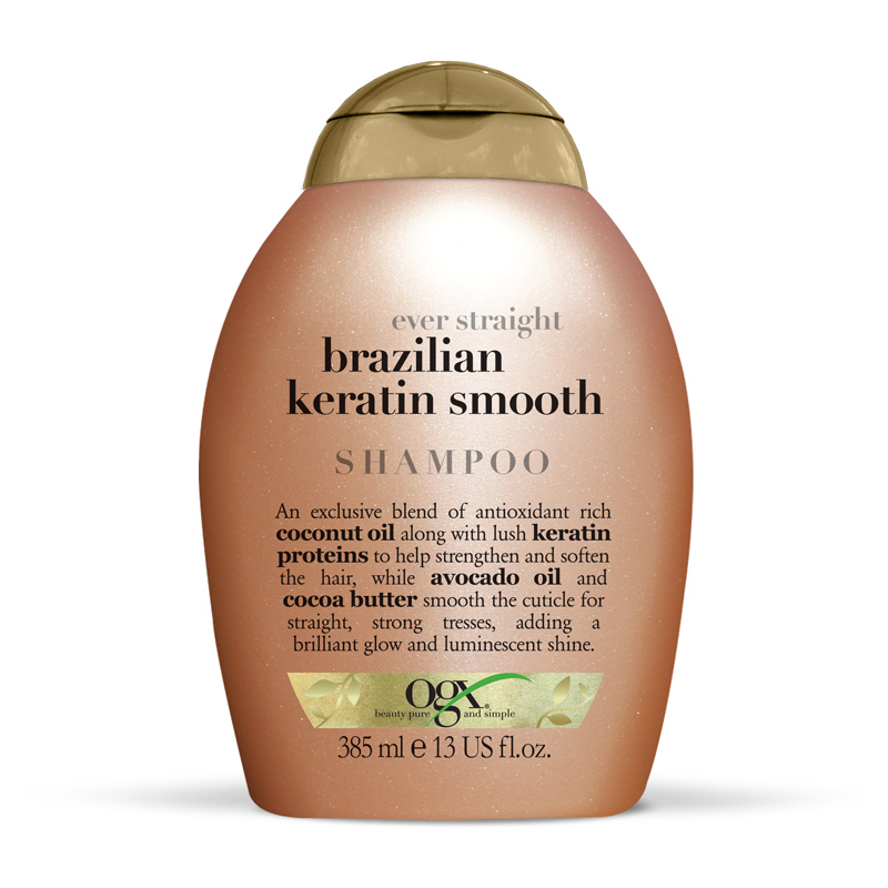 Ogx 174 Brazilian Keratin Shampooing Lissant 385ml Feelunique
