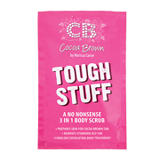 Cocoa Brown TOUGH STUFF Tan-Removing Body Scrub 50ml