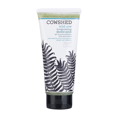Cowshed Wild Cow Invigorating Shower Scrub 200ml