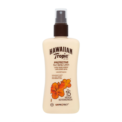 Hawaiian Tropic Protective Sun Spray Lotion SPF 15 200ml