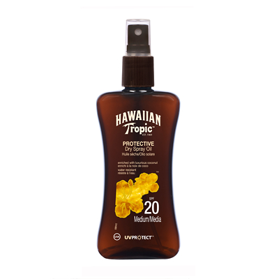 Hawaiian Tropic Protective Dry Spray Oil SPF 20 200ml